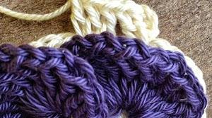 Pensamiento tejido al crochet paso a paso