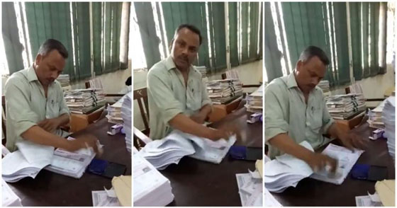 Video Aksi Pegawai Kantor Yang Lagi Nyetempel Ini Jadi Viral