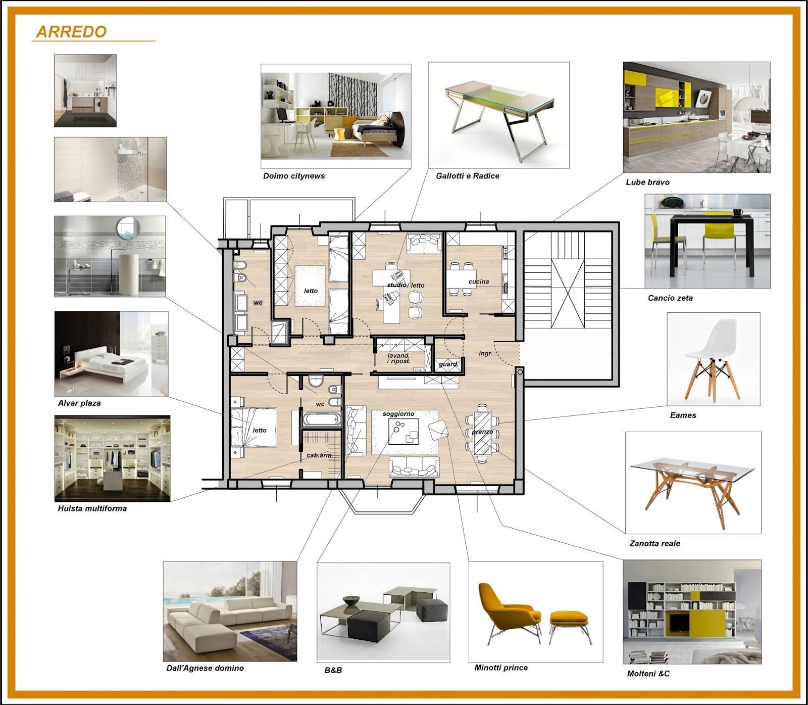 Arredamento e dintorni ristrutturazione appartamento anni for Progetti di ristrutturazione appartamenti