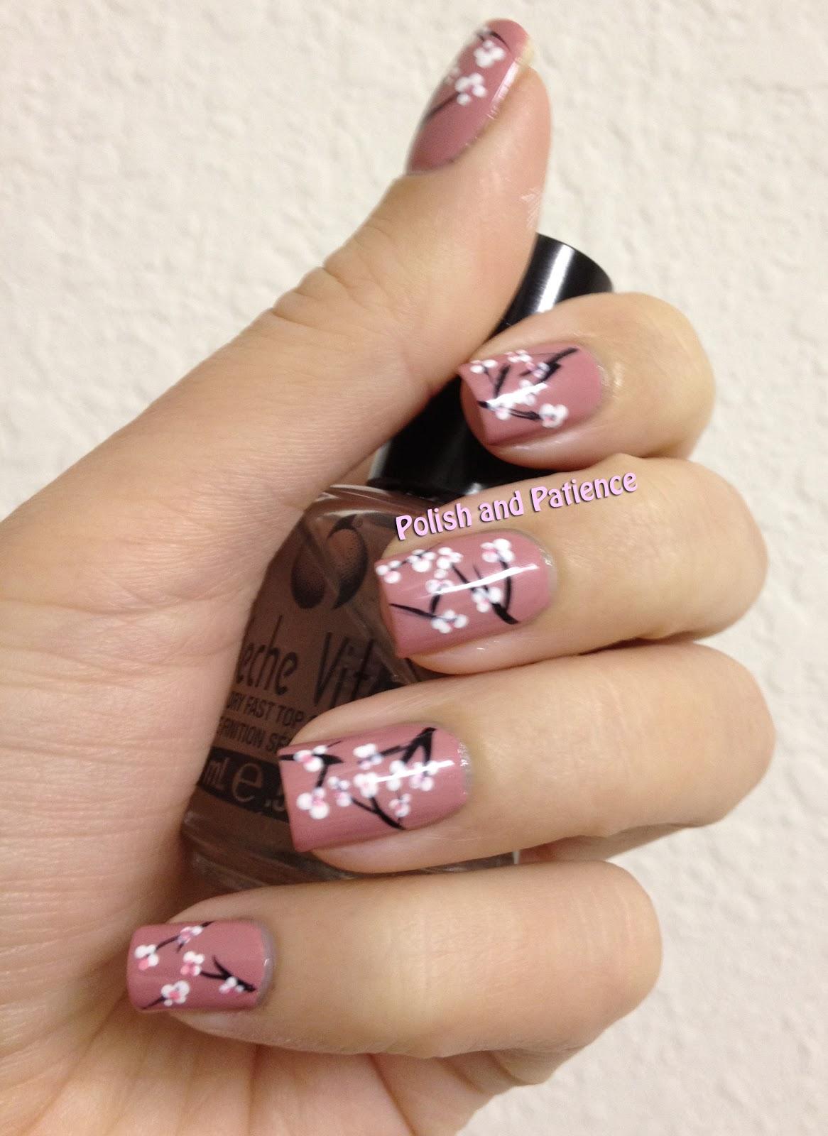 Polish and Patience: Cherry Blossom Nail Art