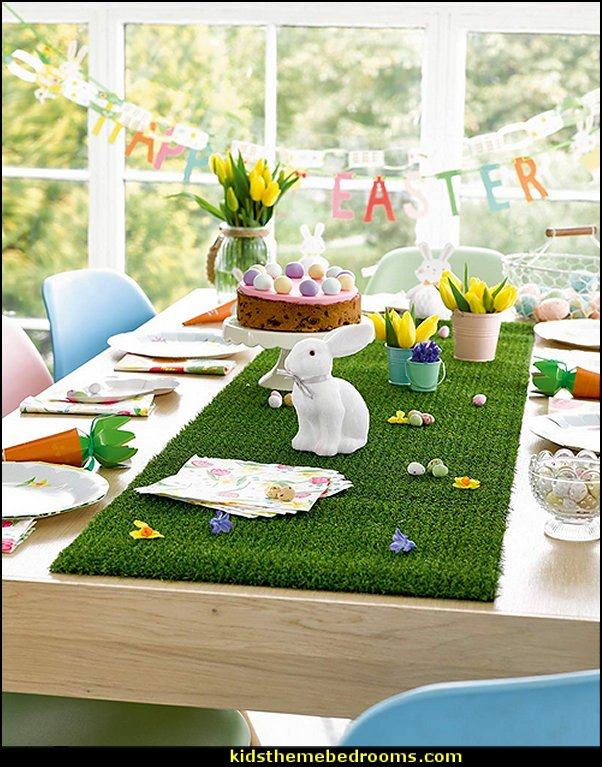 Hop to It Bunny Party Bundle for an Easter Celebration   Peter Rabbit party supplies - Peter Rabbit Party Ideas - Peter Rabbit Party Theme  decorations - Peter Rabbit birthday party decorations - Peter Rabbit spring garden party decorating - garden party - Carrots Chocolate Candy molds  -  Carrot cake cookie molds - flower decorations - bunny party sweets - bunny party supplies