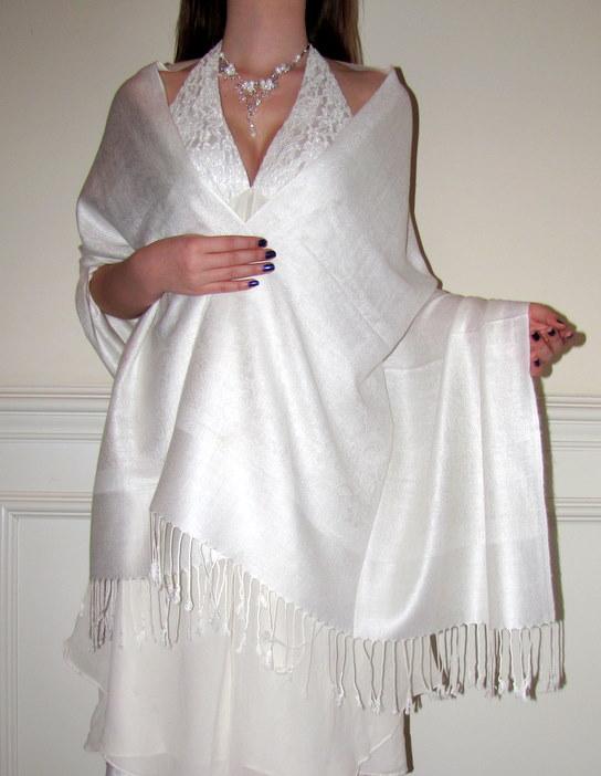 Bridal Wedding & Bridesmaids Shawls In Many Colors ...