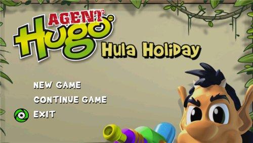Hugo Hula Holiday - Katılımsız Oyun