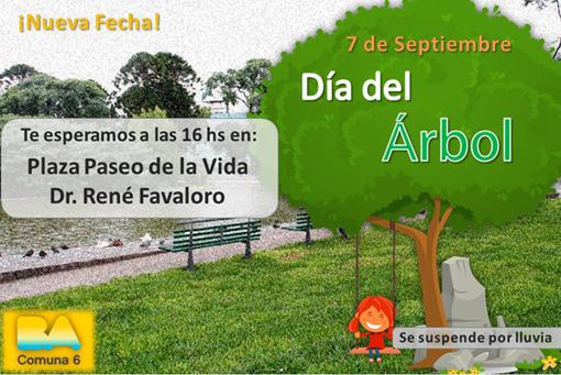 Agora21 caballito dia del arbol invitacion de la comuna for Dia del arbol 01 de septiembre
