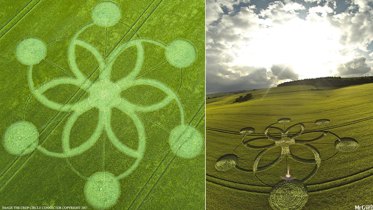 Reportan nuevo e impresionante Crop Circle en Wiltshire, Reino Unido