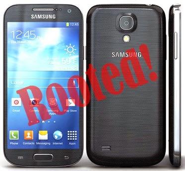 Root Samsung Galaxy S4 Mini Duos GT-I9192