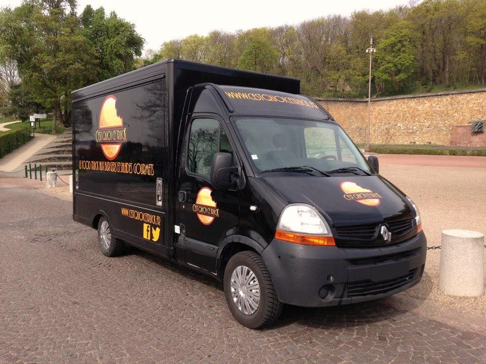 Création d'un logo pour un truck restaurant mobile