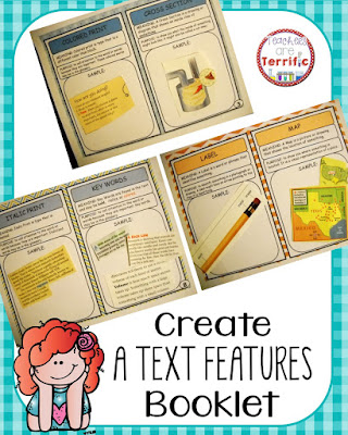 booklet non fiction text features