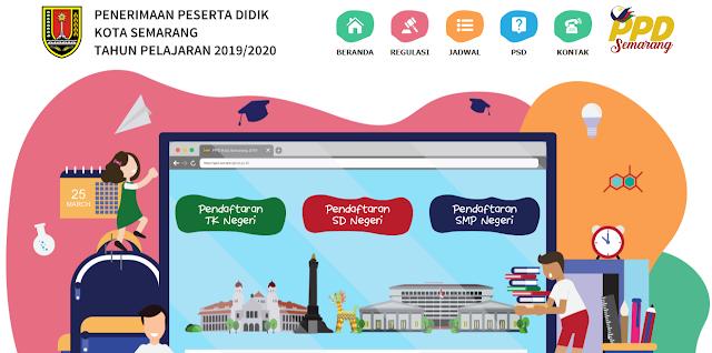 Jadwal dan Syarat Pendaftaran PPD SD Negeri Kota Semarang 2019/2020