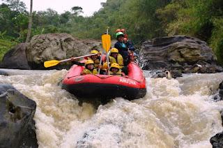 Paket Rafting Cisadane Bogor
