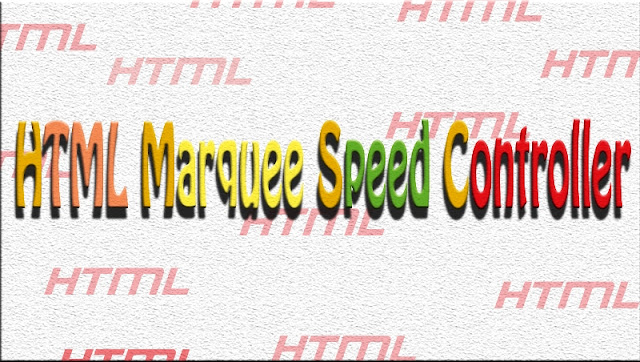 Marquee speed-Marquee tag