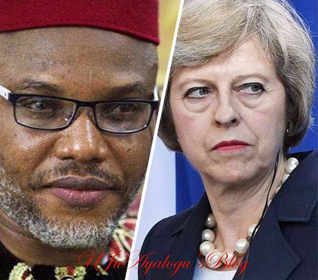 Extradite Nnamdi Kanu, The Terrorist Now, Else... - Group Threatens UK