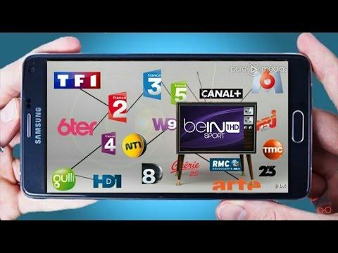 Regarde les Chaine Tv Française sur votre Smartphone 2018