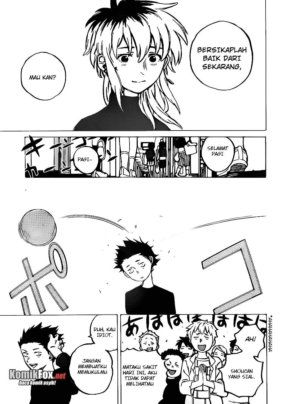 Koe no Katachi Chapter 03-25