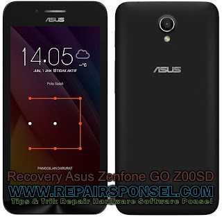 Cara Masuk Recovery Asus Zenfone GO Z00SD