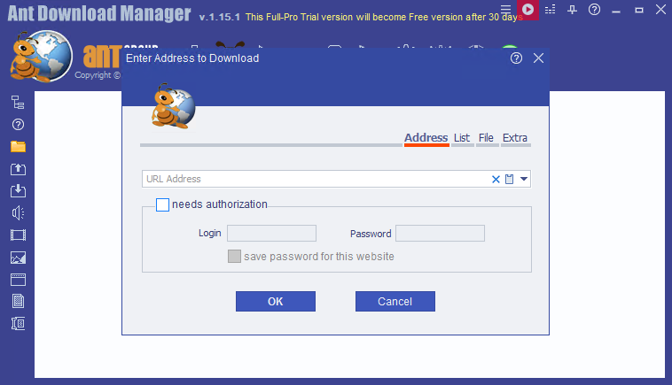 Ant Download Manager 1.17.1 Build 67239