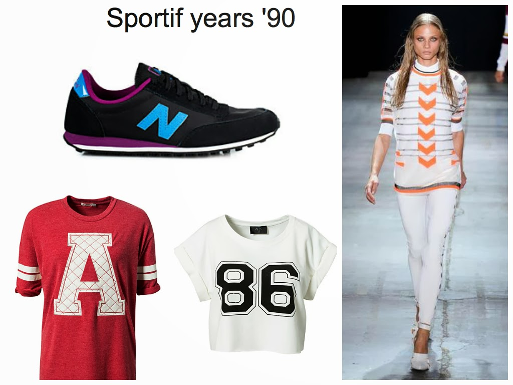 sporty fashion trend