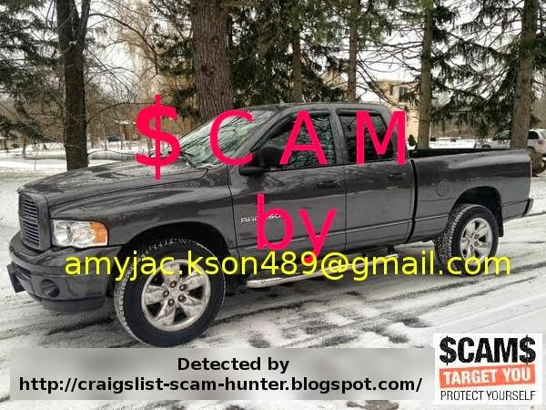 Vehicle Scams Google Wallet Ebay Motors Amazon Payments Ebillme Western Union Money Gram Etc Craigslist Scam Ads For 02 15 2014