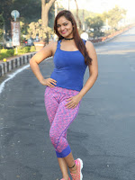 Ashwini sizzling photos from hyd 10k run event-cover-photo