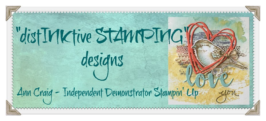 Ann Craig - distINKtive STAMPING designs - Stampin' Up!® Australia