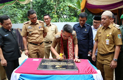 Zaiful Bokhari Resmikan Gedung UPTD Puskesmas Jabung
