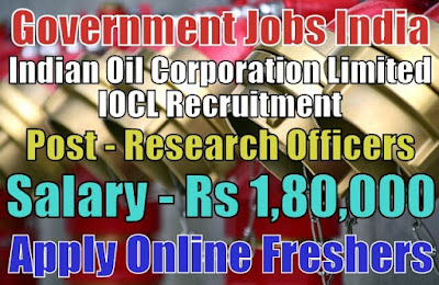 Indian Oil IOCL Recruitment 2019