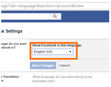 How Do I Change the Language on My Facebook