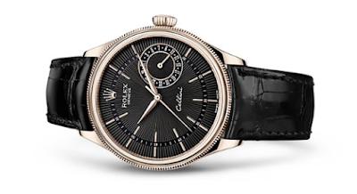 Rolex Cellino Date Black Dial