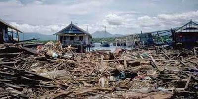 Tsunami Ende, Flores, NTT