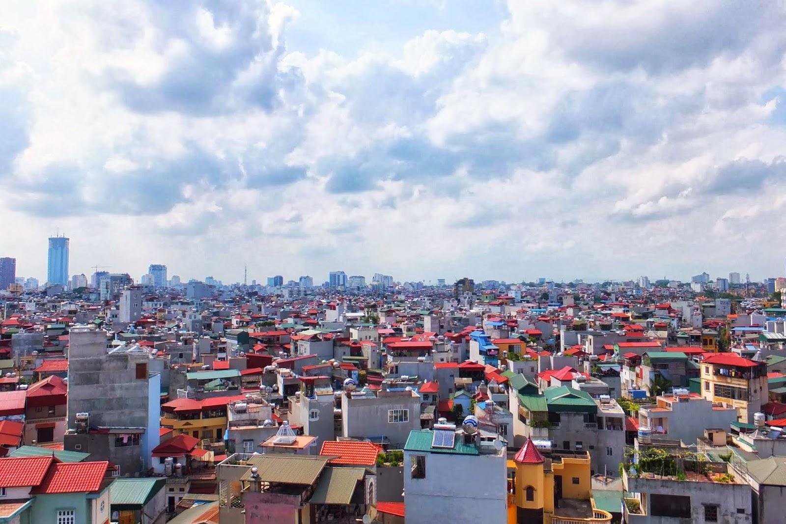 hanoi-city-view ハノイの住宅街