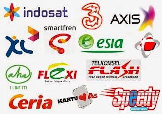 1. PT Indosat Tbk.  PT Indosat Tbk adalah nama dari salah satu perusahaan penyedia jasa telekomunikasi dan jaringan telekomunikasi di Indonesia. Indosat memiliki sejarah panjang perpindahan kepemilikan dan perubahan tujuan perusahaan semenjakdidirikan pada 20 November 1967. Didirikan sebagai perusahaan modal asing oleh pemerintah Indonesia dengan nama PT Indonesian Satellite Corporation Tbk.(Persero), perusahaan ini mulai beroperasi pada September 1969 sebagai perusahaan komersil penyedia jasa sambungan langsung internasional (IDD). Pada tahun 1980  Indosat menjadi Badan Usaha Milik Negara dan dimiliki oleh Pemerintah Indonesia. Pada akhir tahun 2008 saham pemerintah Indonesia tinggal 14,3 persen saja, dan sebanyak 65 persen dikuasai oleh pemodal asing QTel (Pemerintah Qatar), maka berdasarkan Peraturan Presiden Nomor 111 Tahun 2007 penyelenggaraan jaringan telekomunikasi untuk jaringan bergerak baik seluler maupun satelit, kepemilikan modal asing dibatasi 65 persen. Perusahaan ini kemudian didaftarkan ganda oleh pemerintah Indonesia (dual listed company) pada Bursa Efek Indonesia pada 19  Oktober 1994 (BEI:ISAT) dan Bursa Efek New York, Amerika Serikat (NYSE:IIT). Saat didaftarkan di tahun 1994 pemerintah Indonesia tetap memiliki 65 persen perusahaan ini. Pada 24 April 2013 Indosat mengumumkan akan menghapus pencatatan American Depositary Shares dari New York Stock Exchange (NYSE) dan resmi keluar pada Juli 2013 atas permintaan Menteri BUMN di bulan April 2013. Performa saham indosat di bursa itu terus menurun sejak tahun 2009. 2. PT XL Axiata Tbk.  PT XL Axiata Tbk (dahulu PT Excelcomindo Pratama Tbk) adalah sebuah perusahaan operator telekomunikasi seluler di Indonesia. Perusahaan XL yang kini bernama Axiata Tbk ini berdiri pada tanggal 8 Oktober 1989 dengan nama PT Grahametropolitan Lestari. Sekitar enam tahun kemudian, XL mendirikan kemitraan dengan Rajawali Group yang merupakan pemegang saham PT Grahametropolitan Lestari dengan tiga investor asing yaitu NYNEX,