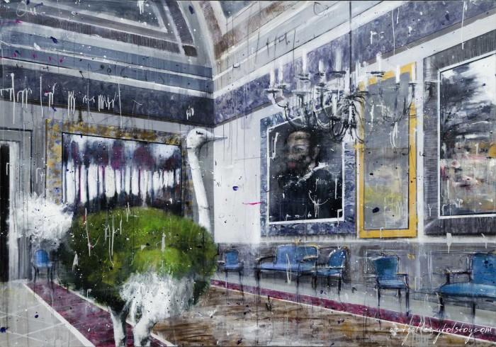 Итальянский художник. Angelo Accardi