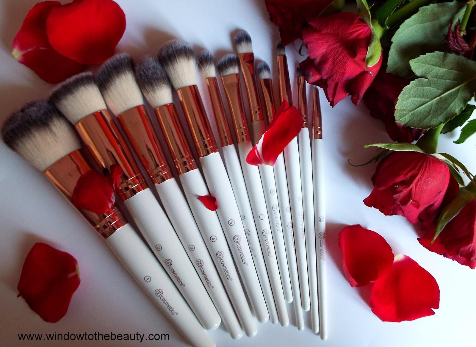 Rose Romance 12 Piece Brush Set by BH Cosmetics #16