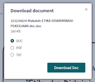 Demo Download document