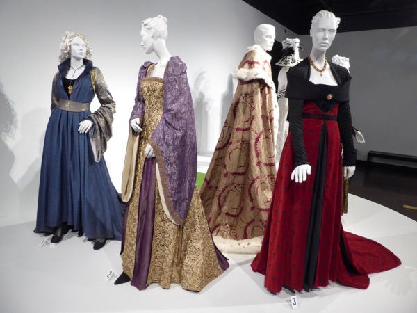 White Princess TV costumes