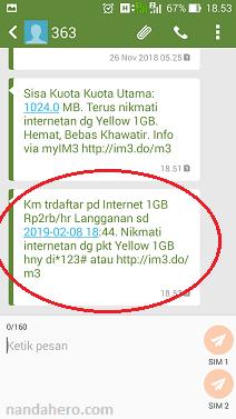 Nah kali ini admin hhandromax bagikan bagaimana cara cek status paket Indosat untuk mengetahui paket intern Tutorial Cek Paket Im3 yang Sedang Aktif Digunakan dengan Gampang