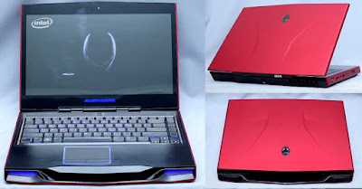 Jual Alienware M14X R1 - Laptop Gaming Spek Tinggi