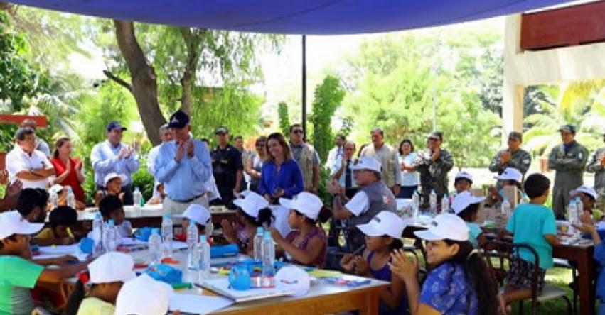 MINEDU: Ministra Martens verifica condiciones educativa en Piura y confirma inicio de clases desde este lunes - www.minedu.gob.pe