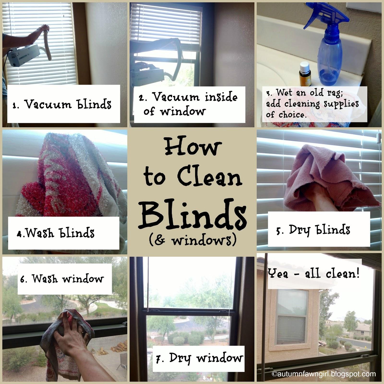 Brandi Raae W Is For Windows How To Clean Blinds