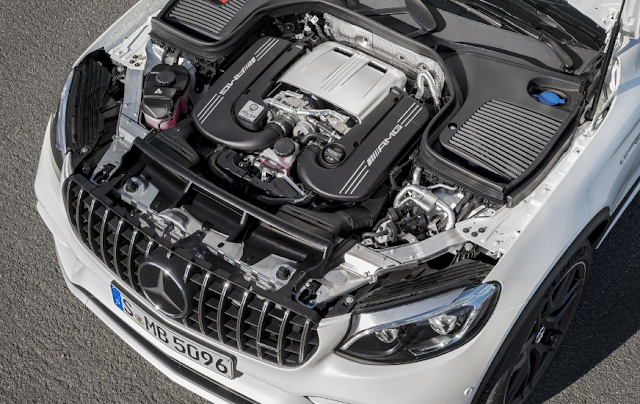 2018 Mercedes-AMG GLC63 Coupe Drivetrain