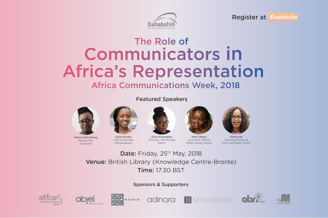 AWC: African Communicators on Continent's Narrative at British Library