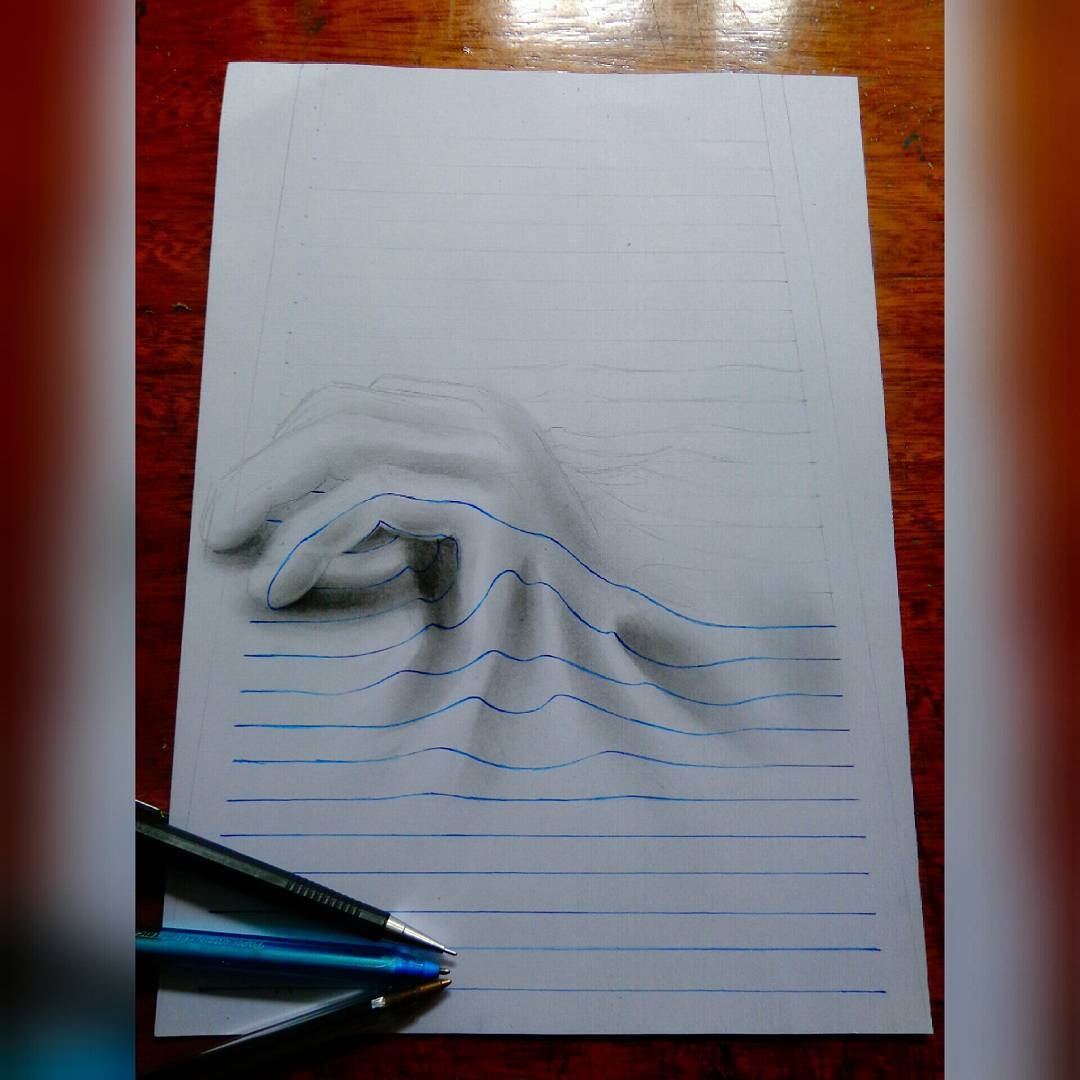 13-The-Hand-wip-João-A-Carvalho-Drawing-and-Painting-3D-Optical-Illusions-see-the-Video-www-designstack-co
