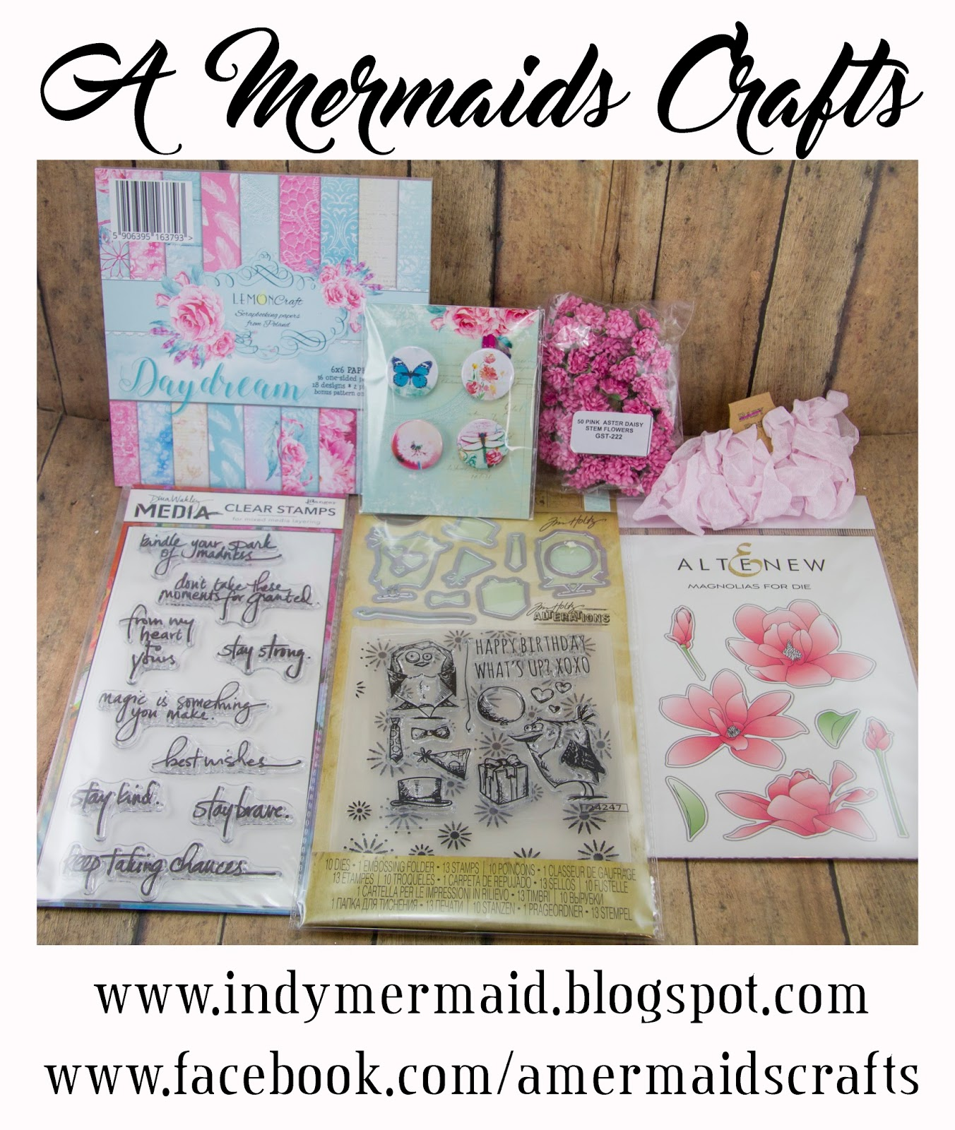 Lisa's Giveaway - A Mermaids Crafts