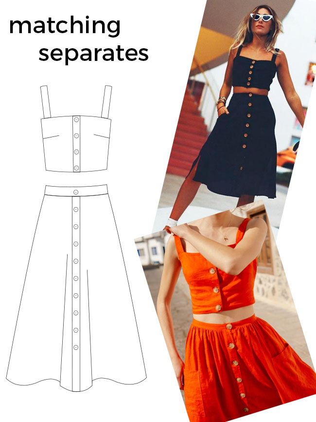 Ten hack ideas for the Seren dress