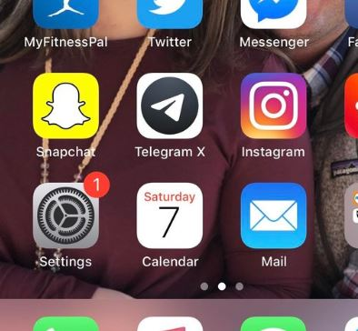iOS 12 1 : How to remove notification badge from settings icon