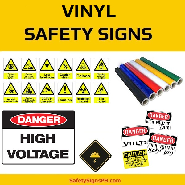 Vinyl Safety Signs & Stickers Philippines