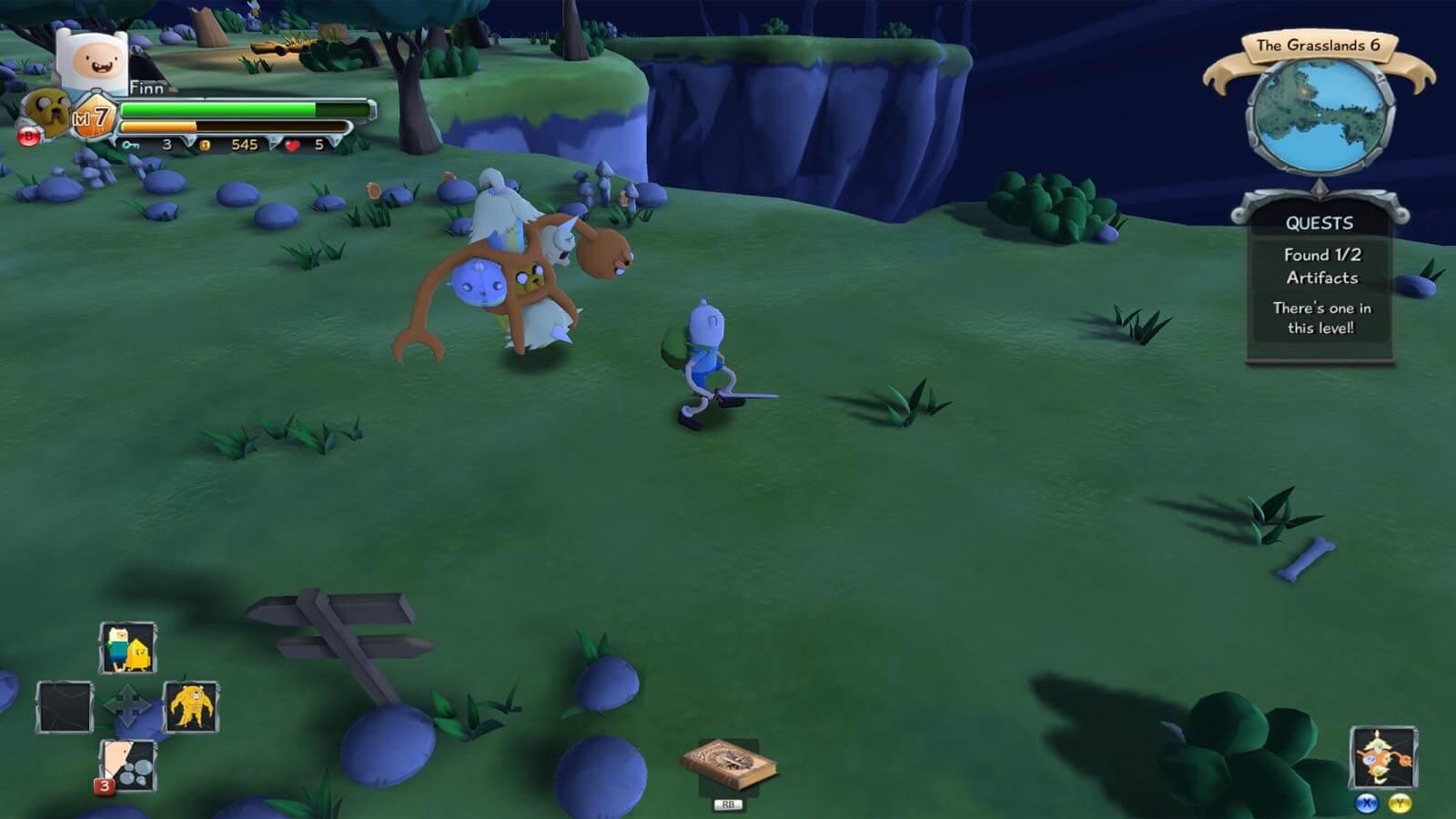 تحميل لعبة Adventure Time Finn And Jake's Epic Quest مضغوطة كاملة بروابط مباشرة مجانا