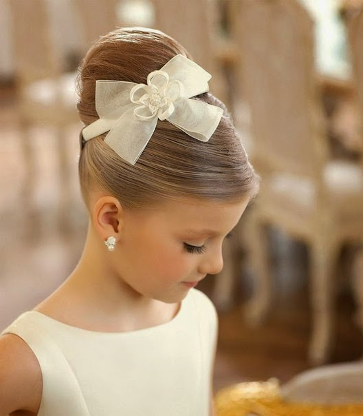Hairstyles For Girls In Wedding: Flower Girl Hairstyles
