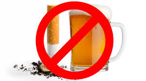 Berhenti minuman keras dan merokok