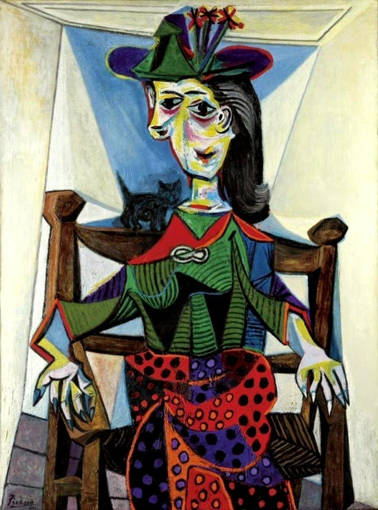 Pablo Picasso Dora Maar with Cat